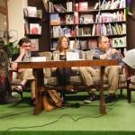 Pasmo Nocne Poeci Wrocławscy. Od lewej Karol Pęcherz, Agnieszka Wolny-Hamkało, Marcin Kurek i Julia Szychowiak